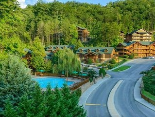 Wonderful 2BR/2Bresort condo located halfway between Gatlinburg & Pigeon Forge!