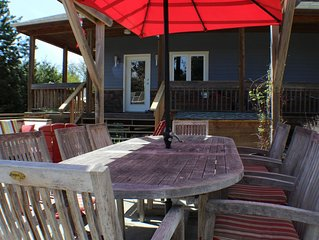 Beautiful home in Point Roberts, with airstream guesthouse