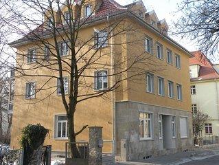 Fewo  im Zentrum Weimars, ruhiges & charmantes Stadthaus, Fahrradverleih