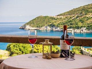 Makris Gialos Suite mit Meerblick direkt beim Strand