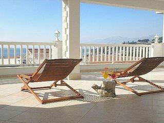 Ferienwohnung 'Villa Bonaca 'luxus-Ferienwohnung mit Meerblick