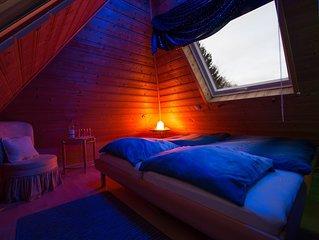 Ferienwohnung im Dachgeschoss inmitten des Naturparks Fichtelgebirge