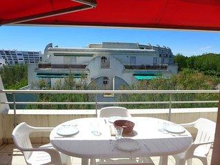 Ferienwohnung Aurore in La Grande Motte - 6 Personen, 2 Schlafzimmer