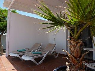 modernes Apartment nur wenige Meter vom Strand entfernt mit tollem Ausblick