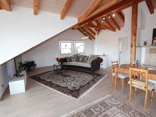 Ferienwohnung im Dachgeschoss mit 120qm, 1 Schlafzimmer, max. 2 Personen