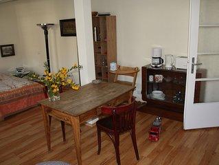 freundliches komplett ausgestattetes 40 qm Appartement in Lichtental