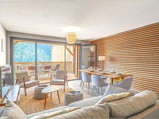 Appartement neuf haut de gamme, moderne et confortable, proche des pistes