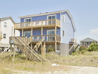 Mead Us At The Beach: 3 BR / 2 BA home in Oak Island, Sleeps 10