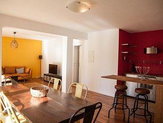 Relax on top of Innsbruck/Hungerburg , stilvolles Apartment 65m2 +Garten