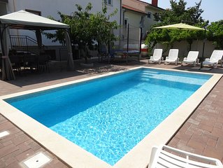 Large family apartment with private pool