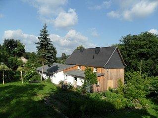 Schönes Landhaus direkt am Wanderweg gelegen, ideal für Familien