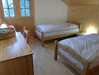 Ferienwohnung Pervenche in Enney - 4 Personen, 2 Schlafzimmer