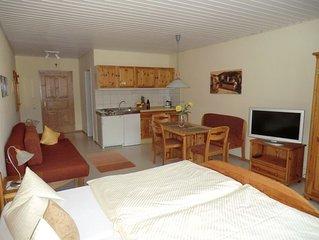 Gemütliches Einzimmerappartement (35 2) mit Küchenzeile im Altmühltal