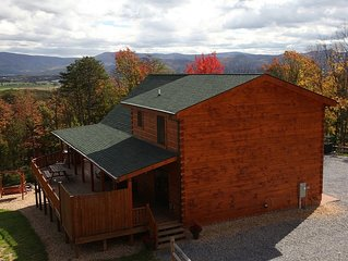 Panoramic Mountain Views Hot Tub Luray VA Gameroom...PRICE INCLUDES 14 Guests