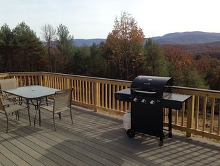 Private Shenandoah Skyline mountain view home, hiking, river access, 90 min DC