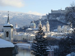 Premium Ferienappartement mit traumhaftem Altstadt- und Festungsblick
