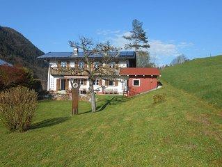 80 qm grosse Ferienwohnung, 2 Schlafzimmer bis 5 Pers., 2 Balkone, sonnig & ruhig