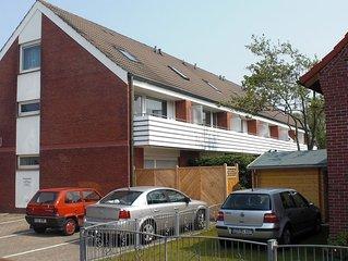 gemütliche u.zentrale - Ferienwohnung auf 2 Etagen, Südbalkon, ideale Lage