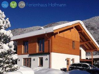 Neu errichtetes Ferienhaus in ruhiger, sonniger Lage und traumhaftem Bergblick!
