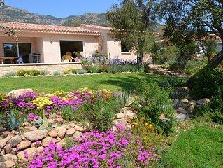 Villa    piscine privée  2 chambres pour 5 personnes moins 10% du 24/07 au 06/08