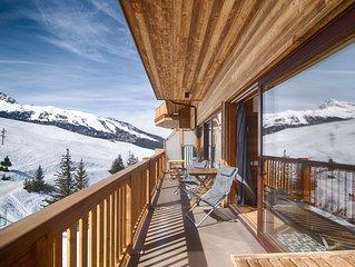 Appartement exceptionnel au pied des pistes a Courchevel (10personnes) !