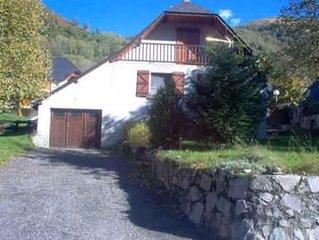 Maison individuelle a LOUDENVIELLE 300m Balnea, 7km Val Louron et Peyragudes