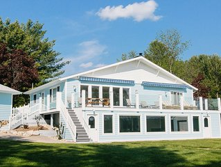 'Timeless' on Grass River - sleeps 14 / waterfront / premier location