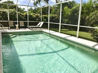Heated Pool! 5 Minute Bike To Beach, Dining, Mercato! Bikes/ Beach Pass Included