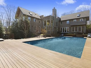 Spacious Summer Rental with Pool and Hot Tub