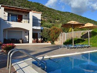 Luxury Villa In Agios Nikolaos - Elounda With Panoramic Sea View & Private Pool