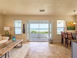Oceanfront Beach Cottage - Wilbur By The Sea (Daytona Beach area)