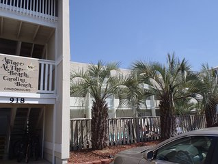 Beautifully Decorated 1st Floor Oceanfront Condo