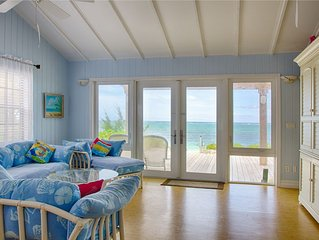 Tranquility Beach Cottage . . . Private, Secluded, Right On Beach!