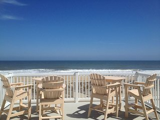 Oceanfront Townhome With Five Decks For Sunrise To Sunset Views. And A Pool :)