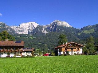 Ferienwohnung mit traumhaften Bergblick  -  WLAN