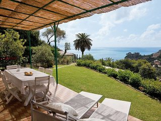 Vacation home Villa Poc  in Rapallo, Liguria: Riviera Levante - 8 persons, 4 be