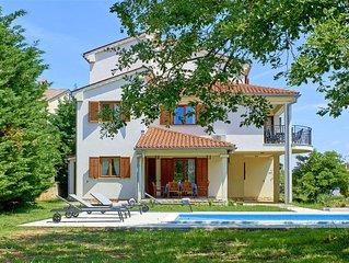 Villa Theresa in Ližnjan (Haus für 12 Personen)