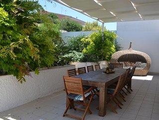 Villa La Dolce Vita - Villa mit privatem Garten 6/8 Personen 800m vom Strand