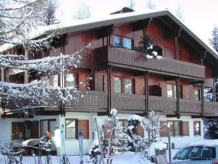 Moderne Wohnung im Zirblstuben Stil, direkt an der Skipiste,