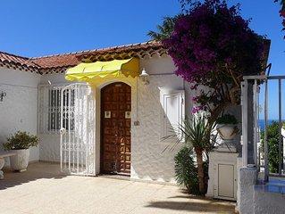 Ferienhaus mit herrlichem Meerblick am Ortsrand von Puerto de la Cruz