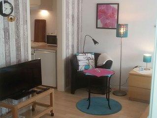 Ferienwohnung mit 27qm, 1 Wohn-/Schlafzimmer für 2 Personen