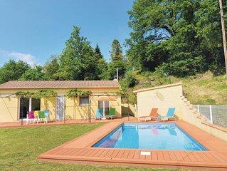 2 Zimmer Unterkunft in Molières-sur-Cèze