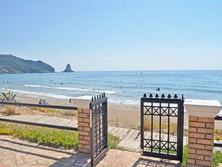 Strandhäuser Yannis am Agios Gordios Strand auf Korfu