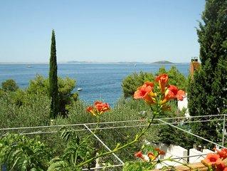 Eine gehobene Ferienwohnung mit unschlagbarem Blick, direkt am Strand