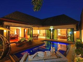 Ferienhaus Rawai für 4 - 5 Personen mit 2 Schlafzimmern - Ferienhaus