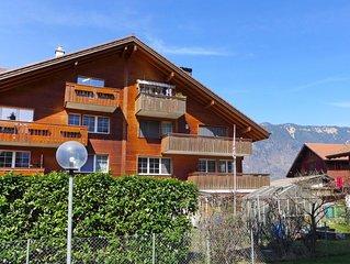 Ferienwohnung Carina in Wilderswil-Interlaken - 6 Personen, 3 Schlafzimmer