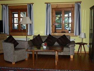 Ferienwohnung Bodensee mit hauseigener Sauna, 90qm, 1 Schlafzimmer, max. 4 Perso