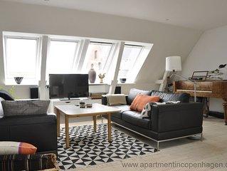 City Apartment in Kopenhagen mit 3 Schlafzimmern 6 Schlafplätzen
