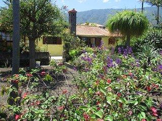 Typisch Kanarische Finca - Entspannung im Botanischen Garten