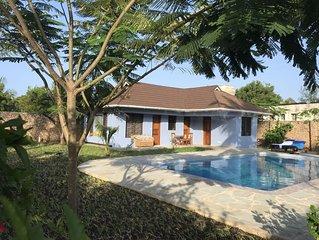 Villa mit privatem Pool, sehr ruhig, herrlicher Garten, sehr nah zum Strand.